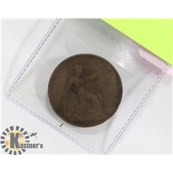 1917 BRITISH LARGE PENNY