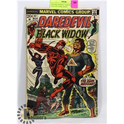VINTAGE MARVEL DAREDEVIL 20 CENT #97 COMIC BOOK.