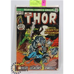 VINTAGE MARVEL THOR 20 CENT #207 COMIC BOOK.