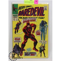 VINTAGE MARVEL DAREDEVIL 12 CENT #27 COMIC BOOK.