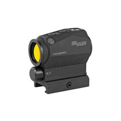 Sig Sauer, Romeo5 X Compact Red Dot, 1X20mm, 2 MOA, AAA Battery, 1913 Mount Black Finish