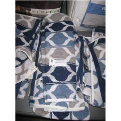 5PC PRIYA PATTERN HAND TOWEL 16 X 26 INCHES