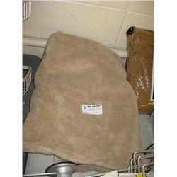 WAMSUTTA BROWN BATH TOWEL