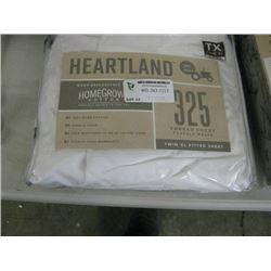 HEARTLAND TWIN XL FITTED SHEET