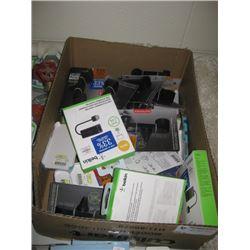 ASSORTED BOX PHONE SUPPLIES