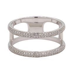 0.3 ctw Diamond Ring - 14KT White Gold