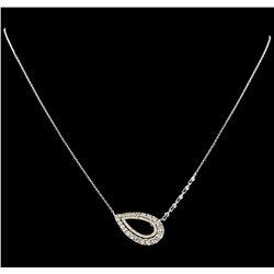 1.28 ctw Diamond Necklace - 14KT White Gold