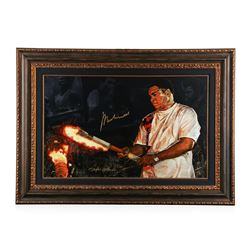 Muhammad Ali Olympic Torch giclee