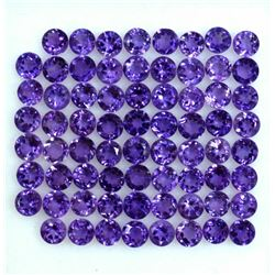 AAA QUALITY NATURAL AMETHYST ROUND CUT PURPLE 3 MM LOOSE GEMSTONE 100 PIECES LOT