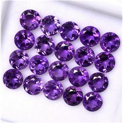 AAA QUALITY NATURAL AMETHYST ROUND CUT PURPLE 4 MM LOOSE GEMSTONE 100 PIECES LOT