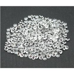 Natural White Topaz Round Cut 4 mm Loose Gemstone 100 Pieces Lot