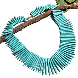 TURQUOISE GEMSTONE NECKLACE JEWELRY
