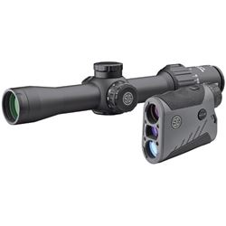 Sig Sauer, BDX Combo Kit, KILO1600BDX Laser Rangefinder and SIERRA3BDX Rifle Scope, Black Finish