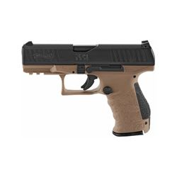 Walther, PPQ M2, Striker Fired, Full Size, 9MM, 4  Polymer Frame, Flat Dark Earth Finish