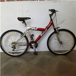 RED GREY DUNLOP BIKE