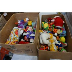 2 BOXES OF MCDONALDS TOYS AND KIDS TOYS
