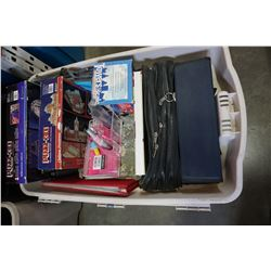 TOTE OF PUZZ 3D MILLENIUM FALCON AND CASTLE AND BINDERS