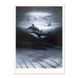"Wyland, ""Dolphin Affection"" Limited Edition Lithograph, Numbered and Hand Signed with Certificate of"