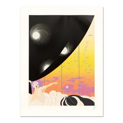 "Erte (1892-1990), ""Coming of Spring"" Limited Edition Serigraph, Numbered and Hand Signed with Certif"