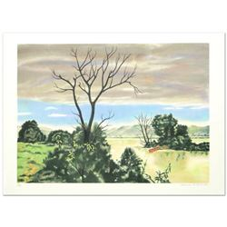 """The Marsh"" Limited Edition Lithograph by Clarence Holbrook Carter (1904-2000), Numbered and Hand Si"