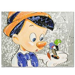 """""""Boy Oh Boy Oh Boy"""" Disney Limited Edition Serigraph by David Willardson, Numbered and Hand Signed w"""