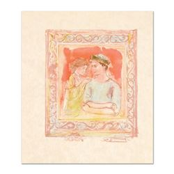 """Edna Hibel (1917-2014), """"Romance"""" Limited Edition Lithograph on Rice Paper, Numbered and Hand Signed"""