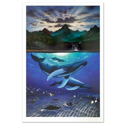 """""""Dawn of Creation"""" Limited Edition Lithograph by Famed Artist Wyland, Numbered and Hand Signed with"""