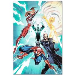 """Marvel Comics """"Ultimate Mystery #1"""" Numbered Limited Edition Giclee on Canvas by J. Scott Campbell w"""