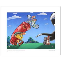 """Caddy with a Tattitude"" Limited Edition Giclee from Warner Bros., Numbered with Hologram Seal and C"