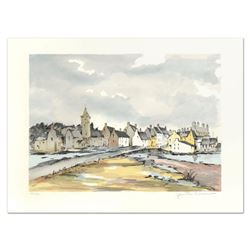 "Laurant, ""Honfleur"" Limited Edition Lithograph, Numbered and Hand Signed."