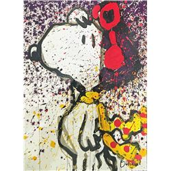 "Tom Everhart- Hand Pulled Original Lithograph ""To Remember… To Salute"""