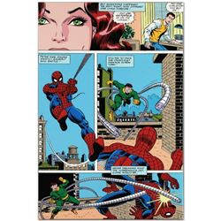 "Marvel Comics ""Amazing Spider-Man #90"" Numbered Limited Edition Giclee on Canvas by John Romita Sr."