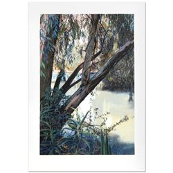 """Jordan River"" Limited Edition Serigraph (25"" x 36"") by Marcus Uzilevsky (1937-2015), Numbered and H"