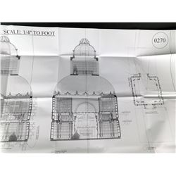 Beauty and the Beast - Castle Set Design Plan (Large Format)