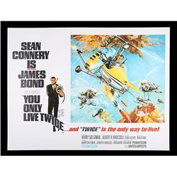 """YOU ONLY LIVE TWICE (1967) - UK Quad """"Style-B"""" Poster, 1967"""