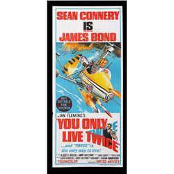 YOU ONLY LIVE TWICE (1967) - Australian Daybill, 1967