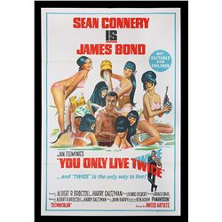 YOU ONLY LIVE TWICE (1967) - Two Australian One-Sheet Posters, 1967