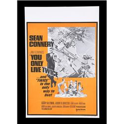 YOU ONLY LIVE TWICE (1967) - UK Double-Crown Poster, c.1969