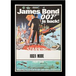 """DIAMONDS ARE FOREVER (1971) AND LIVE AND LET DIE (1973) - UK Double-Crown """"Novelty"""" Posters, c.1971-"""
