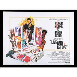 LIVE AND LET DIE (1973) - UK Quad Poster, 1973