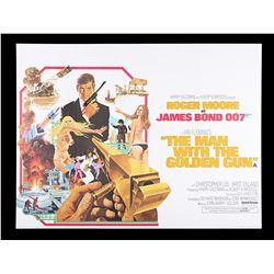THE MAN WITH THE GOLDEN GUN (1974) - UK Quad Poster, 1974