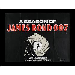 "A SEASON OF JAMES BOND 007 (1975) - UK Quad ""Festival"" Poster, 1975"