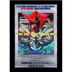THE SPY WHO LOVED ME (1977) - UK Bus Stop Royal Premiere Poster, 1977