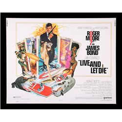 "LIVE AND LET DIE (1973) - US Half-Sheet ""West Hemi"" Poster, 1973"