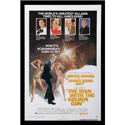 "THE MAN WITH THE GOLDEN GUN (1974) - US One-Sheet ""Style-B"" Poster, 1974"