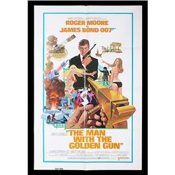 "THE MAN WITH THE GOLDEN GUN (1974) - US One-Sheet ""Style-A"" ""East Hemi"" Poster, 1974"