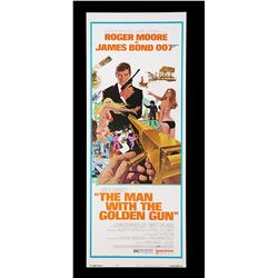 "THE MAN WITH THE GOLDEN GUN (1974) - US Insert ""West-Hemi"" Poster, 1974"