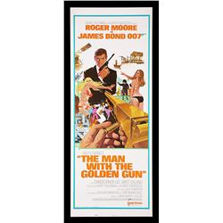 "THE MAN WITH THE GOLDEN GUN (1974) - US Insert ""East-Hemi"" Poster, 1974"