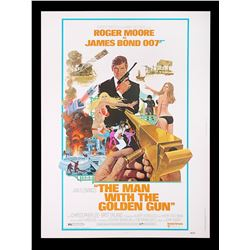THE MAN WITH THE GOLDEN GUN (1974) - US 30x40 Poster, 1974