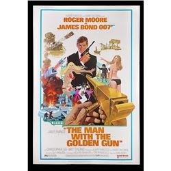 "THE MAN WITH THE GOLDEN GUN (1974) - US 40x60 ""West-Hemi"" Poster, 1974"